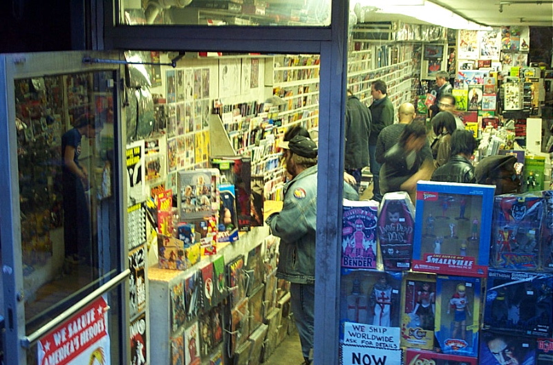 submit or we'll make you work at this comic shop