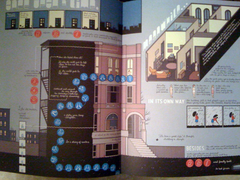 eyeshot is really quite impressed with chris ware's recent work