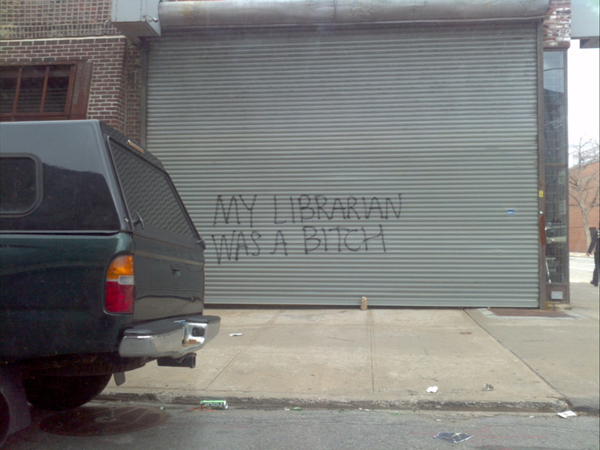 if your librarian wasn't so much a bitch click here to submit